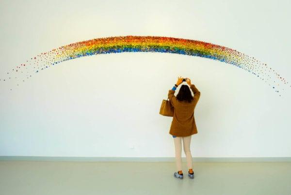 werkgeluk regenboog