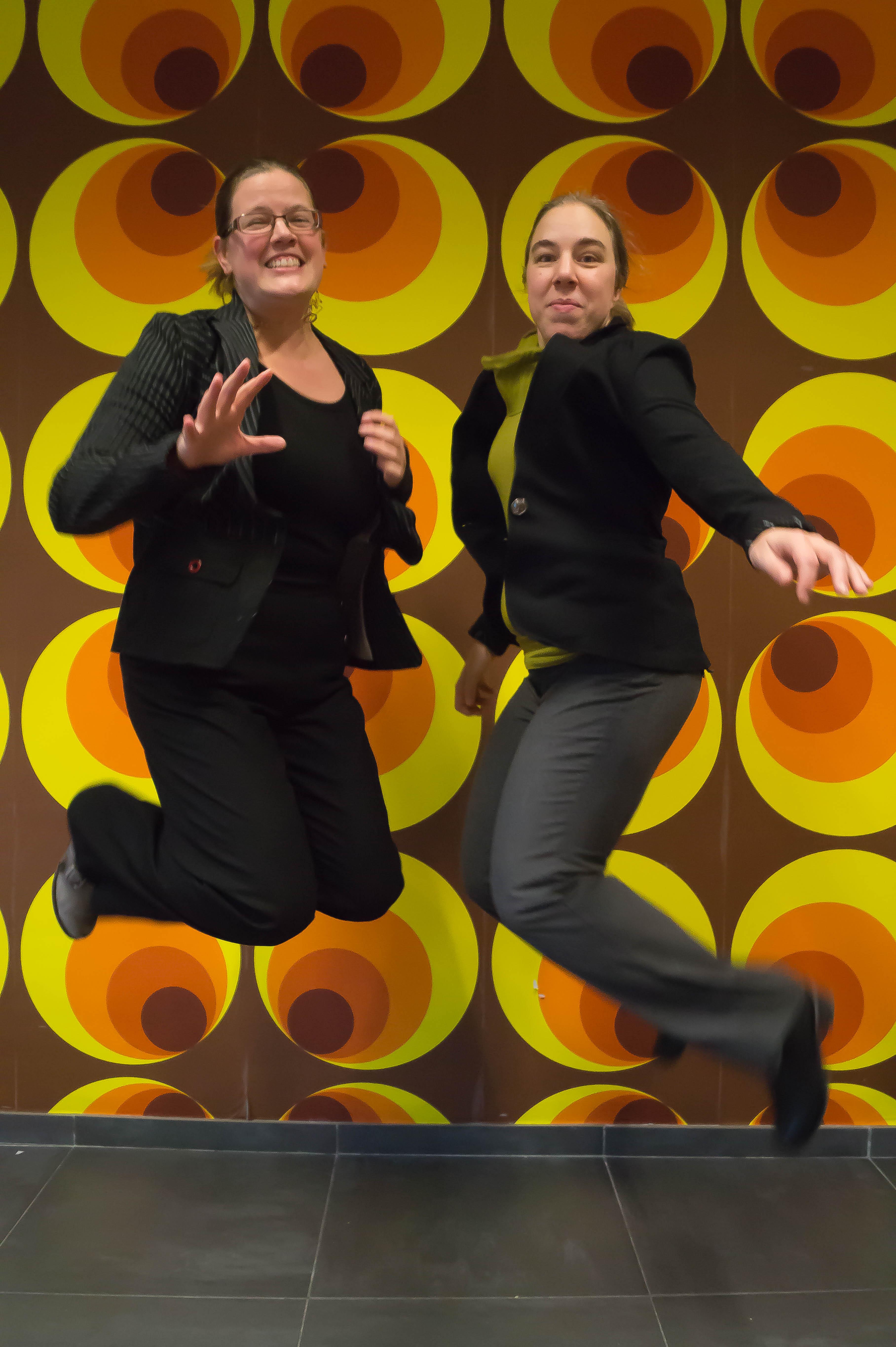 Griet en Kim uit Belgie: enthousiaste initiatiefnemers Week van het Werkgeluk in Belgie