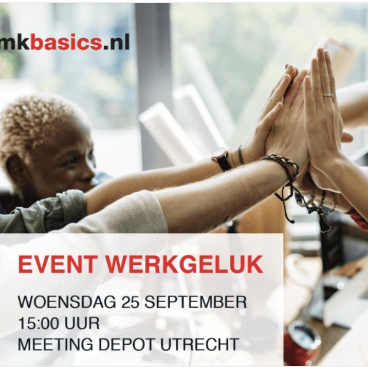 MKBasics organiseert Werkgeluk Event