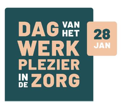 Dag van het Werkplezier in de Zorg: 28 januari 2020