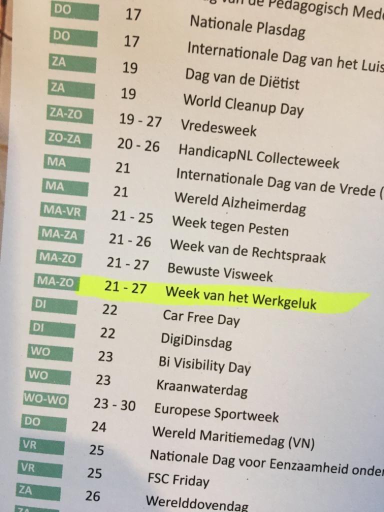 Week van het Werkgeluk 2020