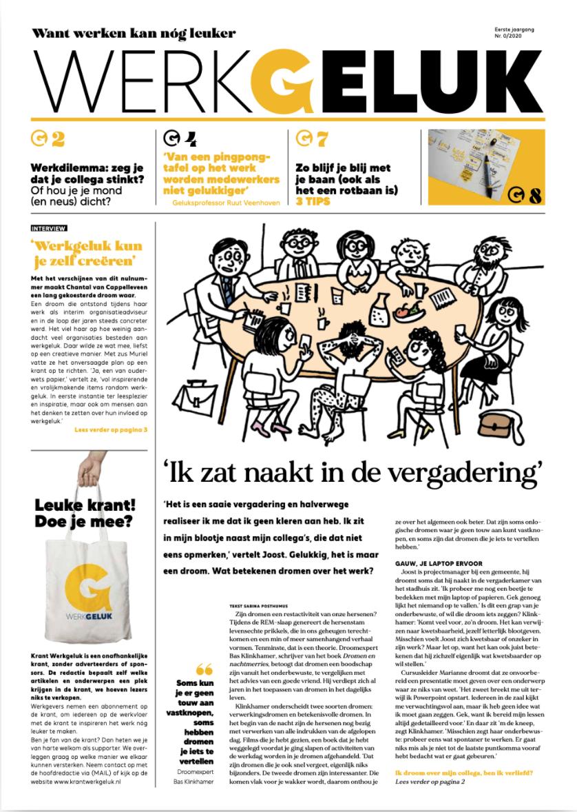 Krant Werkgeluk en Energy Up organiseren challenge