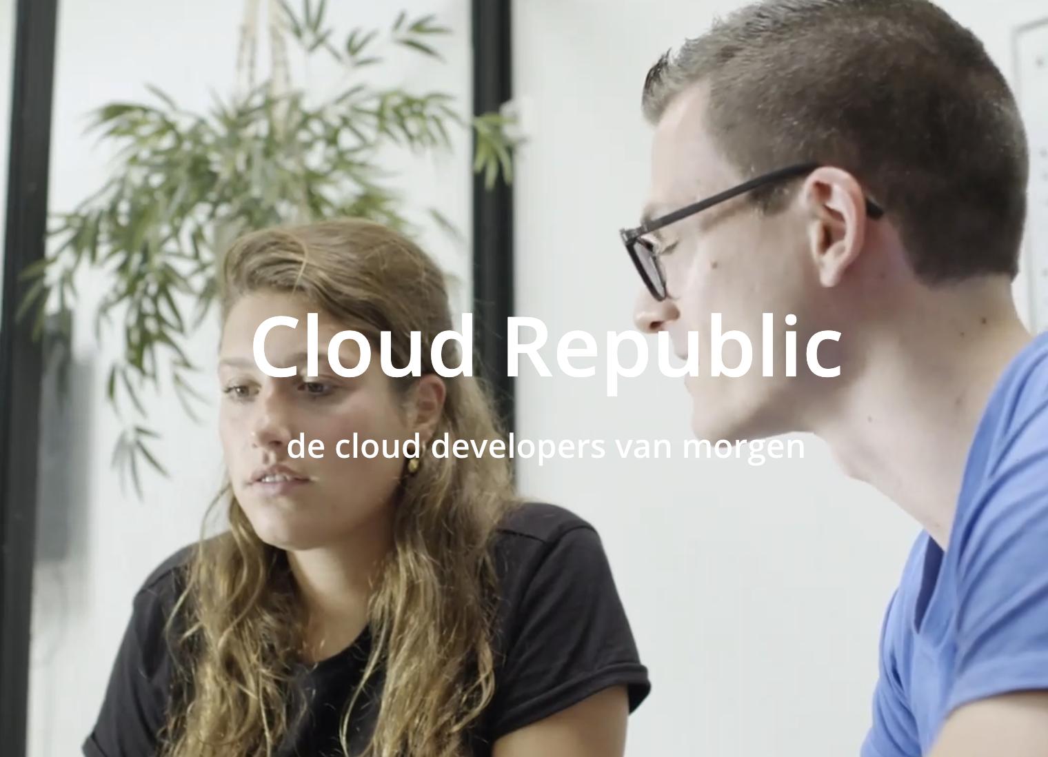 Cloud republic doet mee met de Week van het Werkgeluk